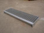 锯齿 防滑格栅板 镀锌钢格板 桥梁 沟盖板 踏板 镀锌格栅板