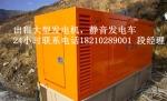 海阳出租发电机租赁发电机专业供应18210289001