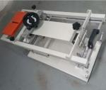 小型台式塑料管手动式单色丝网印刷机曲面丝印机