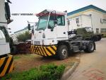 供应出口赞比亚豪威国二低速码头牵引车价格